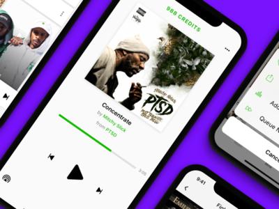 ConureMusic on-demand music streaming app