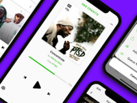 ConureMusic on-demand music streaming app