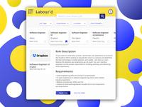Daily UI 050 - Job Listing