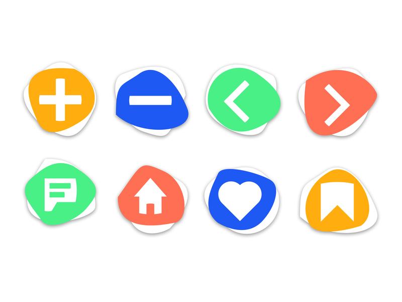 Daily UI 055 - Icon Set iconsets icons daily ui figma figmadesign design ux ui dailyui