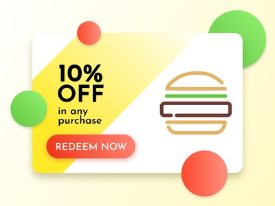 Daily UI 061 - Redeem Coupon
