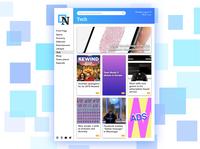 Daily UI 094 - News