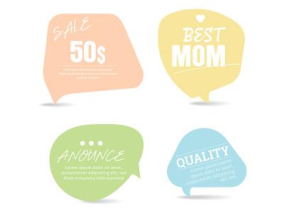 Stickers icon soft design illustration sticker