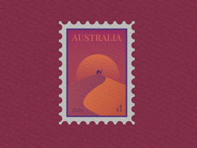 Australian stamp postage on culling of feral camels