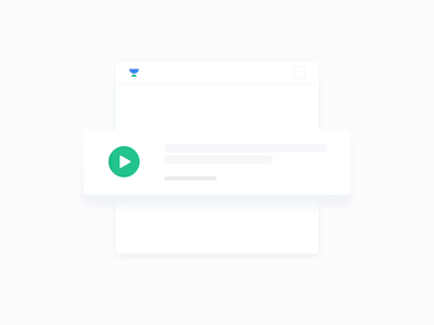 Watch and Download - Looping Animation dashboard ui design animated interactions interaction webdesign banner thumbnail hover device mobile app website webpage cursor button download looping animation ui
