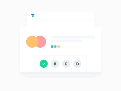Polls - Looping Animation shadow cards mobile app ui dashboard ui app analytics app website web hover state hoverboard dashboard hover buttons stats analytics graphic bar chart polls