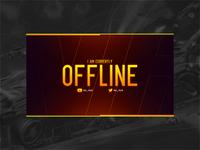 Livestream Twitch Webcam Overlay V2