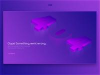 Daily UI Challenge 008 - 404 Error Page