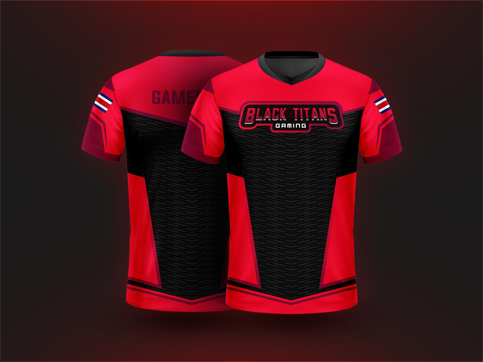 chethan kvs    projects    esports apparel designs