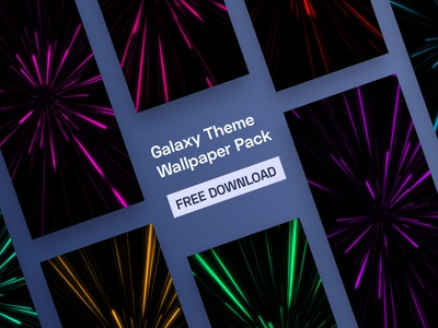 Free Galaxy Themed Wallpaper Pack!