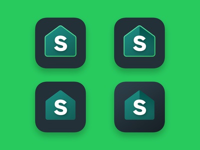 4 Icon Variations for Splitwise Icon