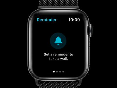 Apple Watch App Concept - Setting a Reminder
