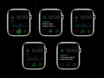 Complications - Apple Watch App Concept