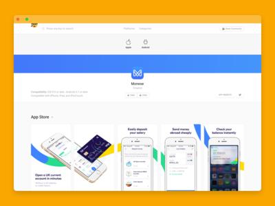 Screen Hunt (BETA) minimal lean mvp slack app product ux ui desktop web
