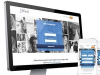 Jwed New Homepage Responsive Design