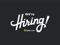 We're Hiring! T-Shirt