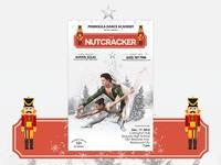 Nutcracker Ballet Poster Design