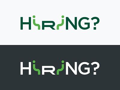 Hiring? semantic semantic typography illustration graphic design typography logo ziprecruiter hiring