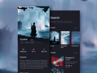 Daily Ui - Movie App