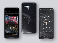 Select App Animation