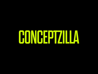 CONCEPTZILLA animated animation concept idea transition motion design motion graphics shakuro text animation logo animation morphing