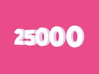 Celebrating 25K