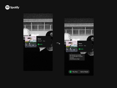 Spotify - Instagram Widget