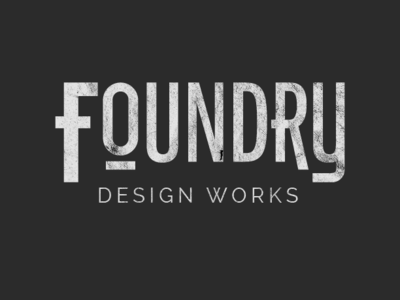 Foundry Logo by Zack Rackovan on Dribbble