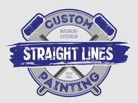 Straight Lines Custom Painting logo