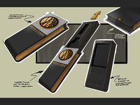 Ardor & Forge packaging concept