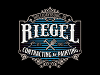 Riegel Contracting & Painting Logo