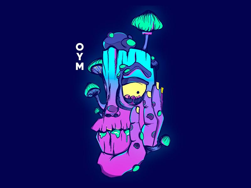 open your mind artwork poster vector ilustrator