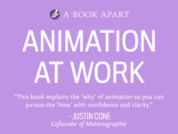 On sale now: Animation at Work