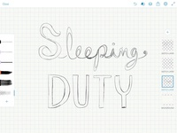 Sleeping Duty logo