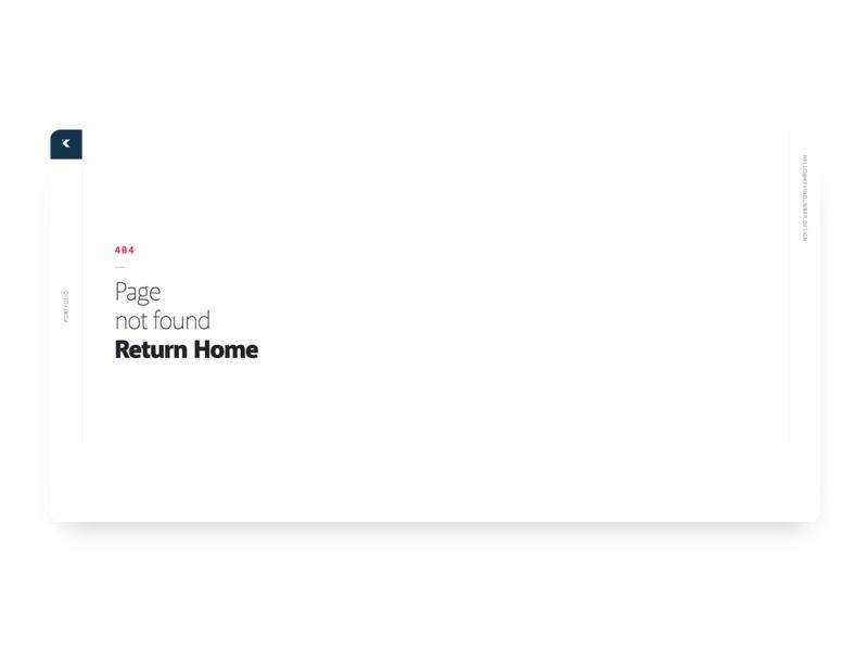 DailyUI #008 404 simple clean interface simple website 404 error page 404 dailyui008 dailyui