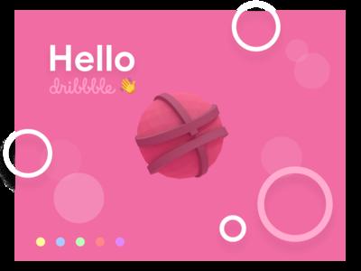 Hello Dirbbble