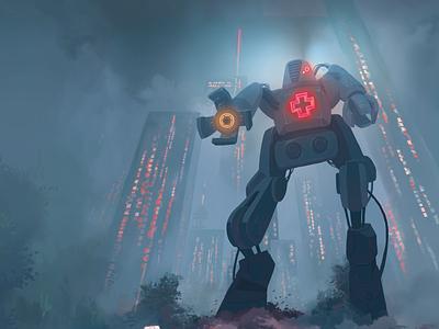 L3EG3NDS space city utopia future book book cover cover illustration dystopian mechatronic mechatronic mecha robots scifi