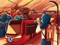 Tram & train