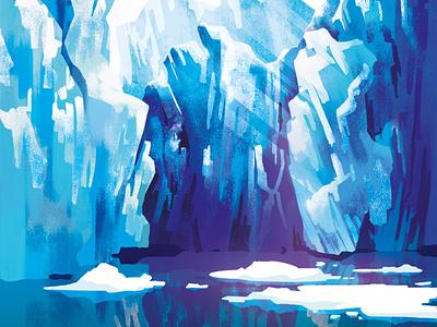 An iceberg illustraion environment nature purity cleaner snow ice cream iceberg