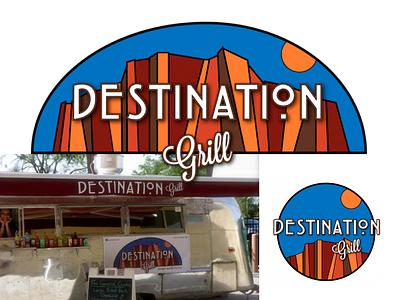 Designation Grill Logo & Variation signage design logo branding