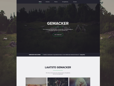 Gemacker.nl Redesign