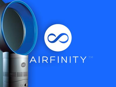 Airfinity Logo Design