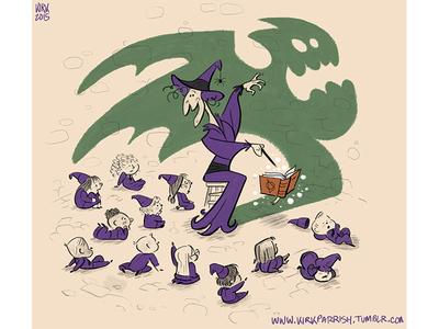 Muse monster scary halloween kidlit artist illustration animation cartoon design character digital art scbwi