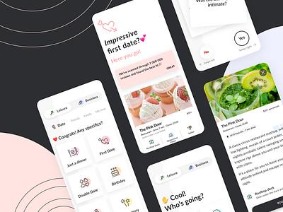 Qrate — MVP Design for Web App design web iphone x ux ui app mobile