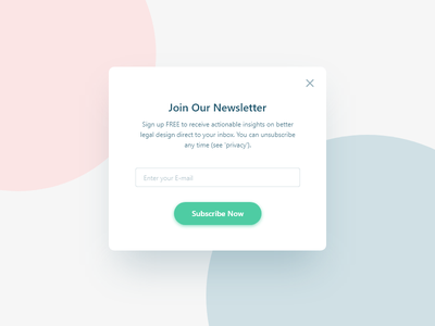 Daily UI #026 Subscribe juro ux ui subscribe newsletter mobile email dailyui daily 026