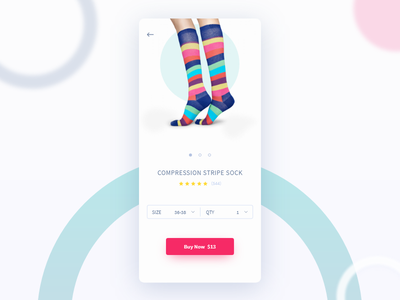 Daily UI #033 Customize Product adobe xd daily ui day 033 eshop product page happy socks shop customize product dailyui