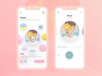 Social Music App music ios player