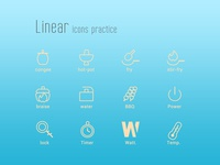 Linear Icons Practice