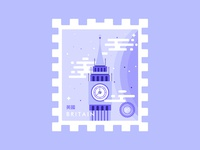 Stamp Britain Big Ben