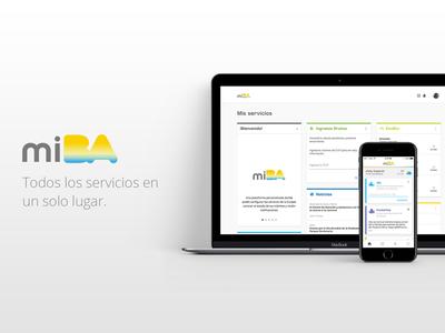 """MiBA"" - Web & App"